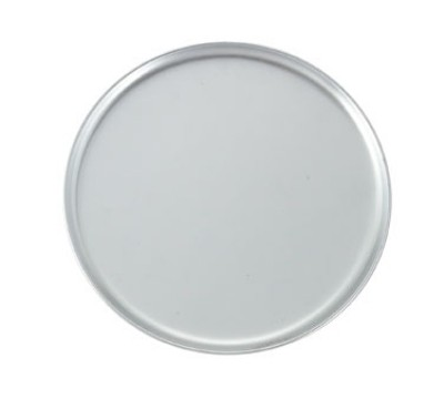"12"" Aluminum Pizza Pan - Regular Rim"