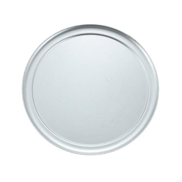 "14"" Aluminum Pizza Pan - Wide Rim"