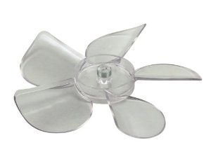 Delfield 3516172-S BLADE,FAN,5.56,CCW, LEXAN, Clear