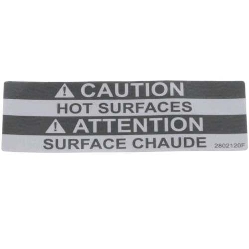 Lincoln 369668 Label Caution Hot