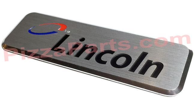 Lincoln 370016 Nameplate Impinger Logo Badge Decal