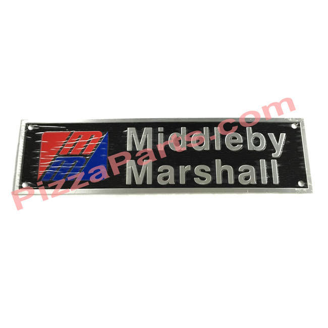 "Middleby 22500-0021 PLATE,NAME ""MMI"" BLACK"