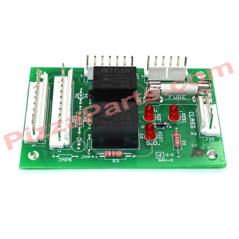 PITCO 60127301 REPLACEMENT Relay Board, 24V