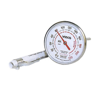 "Pocket Thermometer - 1"" Dial"