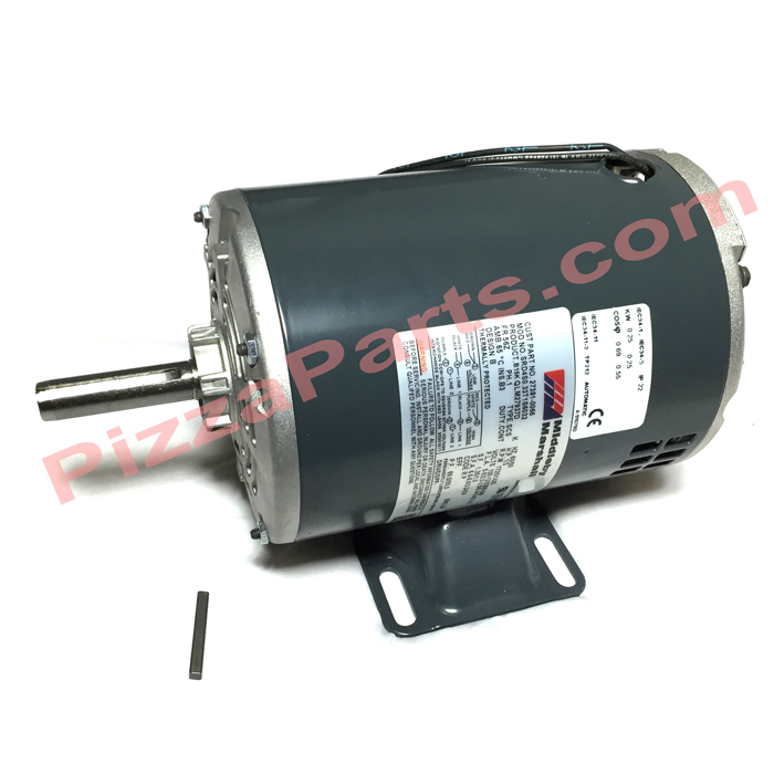 Middleby 27381-0066 MOTOR,1/3HP200-240V 50/60HZ1PH